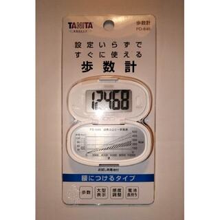 タニタ(TANITA)のタニタ / TANITA 歩数計 PD-646 WH ホワイト 万歩計(ウォーキング)