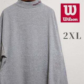 ウィルソン(wilson)のWilson ウィルソン ハイネック ロングスリーブTシャツ ロンT 2XL(Tシャツ/カットソー(七分/長袖))