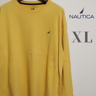 ノーティカ(NAUTICA)のNAUTICA ノーティカ ビッグサイズ ロングスリーブTシャツ ロンT XL (Tシャツ/カットソー(七分/長袖))