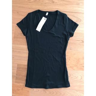 ロイヤルパーティー(ROYAL PARTY)のROYAL PARTY VネックTシャツ ブラック(Tシャツ(半袖/袖なし))