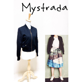 Mystrada - ★マイストラーダ★MA-1 ブルゾン ジャケット