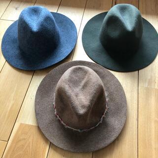 ZARA - ハット 帽子 ZARA GU フェルトハット
