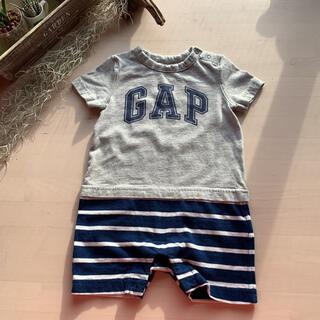 ベビーギャップ(babyGAP)のbabygap セパレート風 ロンパース (70) おまけ付き(ロンパース)