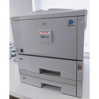 リコー(RICOH)のRICOH ipsio sp4010 業務プリンター 増設ユニット付き送料込み!(PC周辺機器)