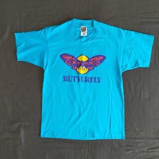 フルーツオブザルーム バタフライ Tシャツ メンズS程度(Tシャツ/カットソー(半袖/袖なし))
