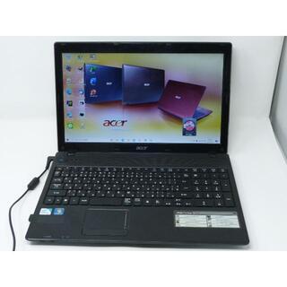 エイサー(Acer)のacer ノートパソコン ASPIRE 5336 Office2019(ノートPC)