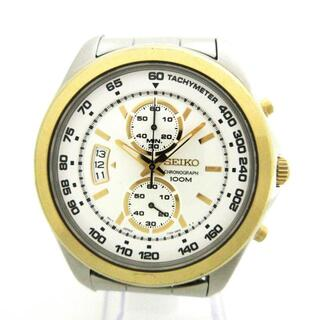 セイコー(SEIKO)のセイコー 腕時計 - 7T94-0BS0 メンズ 白(その他)