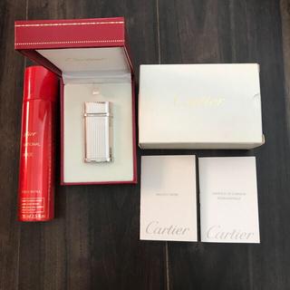 カルティエ(Cartier)のCartier ライター ガス付き(タバコグッズ)