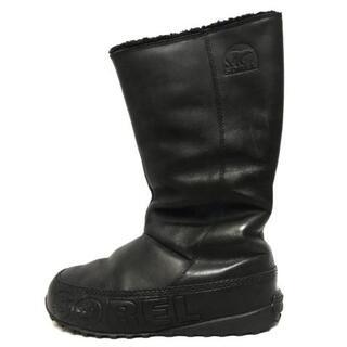 ソレル(SOREL)のソレル ショートブーツ 24.5 レディース -(ブーツ)