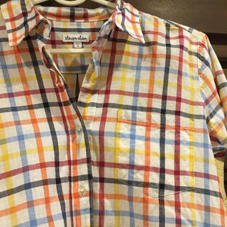 スティーブンアラン(steven alan)のSteven Alan チェックシャツ ネルシャツ(シャツ/ブラウス(長袖/七分))