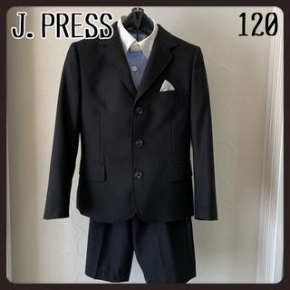 ジェイプレス(J.PRESS)のJ.PRESS  入学式・発表会・冠婚葬祭 ブラックフォーマルスーツ 120(ドレス/フォーマル)
