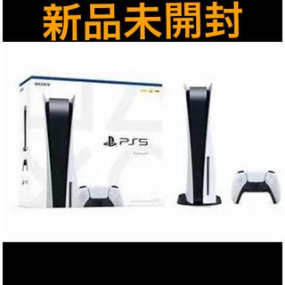 プレイステーション(PlayStation)のPS5 本体 ディスクドライブ搭載版(家庭用ゲーム機本体)
