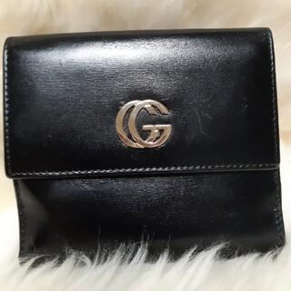 グッチ(Gucci)のチー様専用✨GUCCI グッチ GG マーモント  ボックスカーフ  折り 財布(財布)