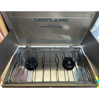UNIFLAME - 値下げユニフレーム ツインバーナー US-1800 トートバッグ付き