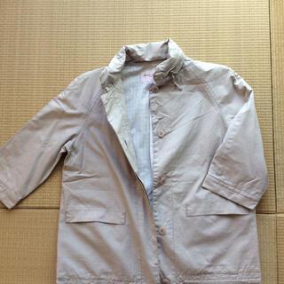 マークジェイコブス(MARC JACOBS)のマークジェイコブスルック  フードラグランジャケット 五分袖  くすみピンク (その他)