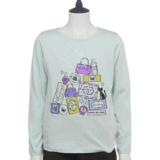 アナスイミニ(ANNA SUI mini)のアナスイミニ♡おしゃれコスメTシャツ 90(Tシャツ/カットソー)