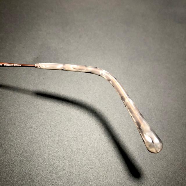 Zoff(ゾフ)の【美品】Zoff 眼鏡 度入り おしゃれ かわいい ユニセックス 韓国風 金属 レディースのファッション小物(サングラス/メガネ)の商品写真