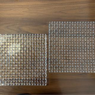 ナハトマン(Nachtmann)のボサノバ スクエアプレート 28cm 2枚組(食器)