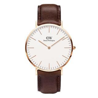ダニエルウェリントン(Daniel Wellington)のDanielWellingtonピンクゴールド腕時計0109DW40mm(腕時計(アナログ))