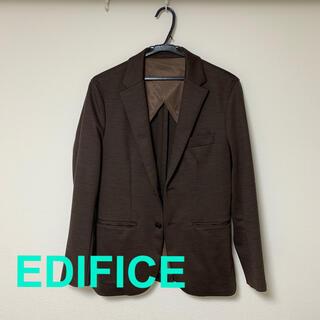 エディフィス(EDIFICE)の【美品】エディフィス EDIFICE ジャケット(テーラードジャケット)