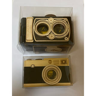 カルディ(KALDI)のカルディ カメラ 木製(小物入れ)