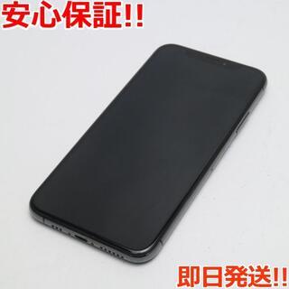 アイフォーン(iPhone)の美品 SIMフリー iPhoneXS 512GB スペースグレイ (スマートフォン本体)