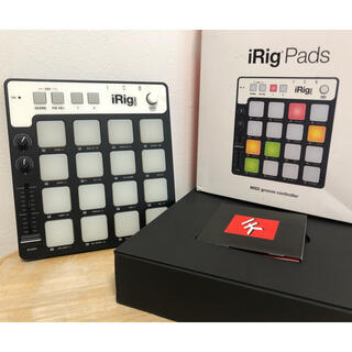 iRig Pads MIDI Groove controller 中古(MIDIコントローラー)