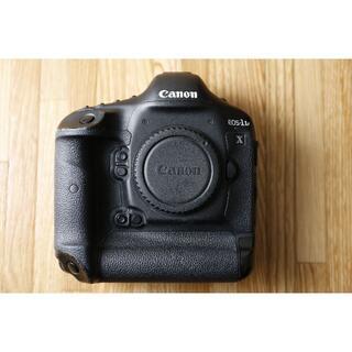 キヤノン(Canon)のCanon EOS 1DX 一眼レフカメラ ボディ+純正バッテリー(デジタル一眼)