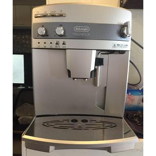 デロンギ(DeLonghi)のDELONGHI 全自動コーヒーマシン デロンギESAM03110(エスプレッソマシン)