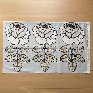 マリメッコ(marimekko)のマリメッコ マーライスルース 生地 はぎれ ブルー 水色(生地/糸)