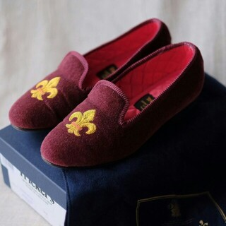 トリッカーズ(Trickers)の極美品Tricker's トリッカーズ ヴィクトリア パンプス サイズ4(ローファー/革靴)