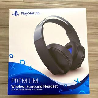 プレイステーション(PlayStation)のPREMIUM wireless surround headset(ヘッドフォン/イヤフォン)