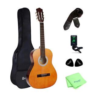 クラシックギター ケース付き 初心者向け 【新品、送料無料】(アコースティックギター)