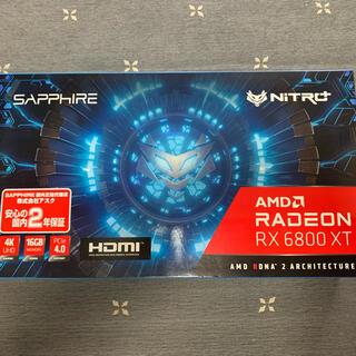 エイスース(ASUS)のAMD Radeon 6800XT 新品未使用(PCパーツ)