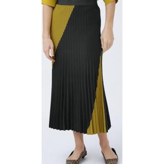 アドーア(ADORE)のアドーア未使用ニットスカート エポカお好きな方にも(ロングスカート)
