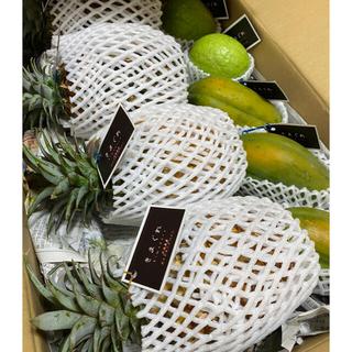 石垣島産「フルーツ詰め合わせ」4種類!5.5kg(フルーツ)