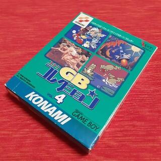 ゲームボーイ(ゲームボーイ)のコナミ GBコレクション4 ゲームボーイソフト 箱 取説 ケースあり(家庭用ゲームソフト)