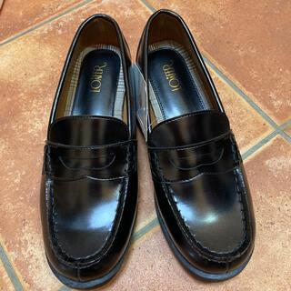 シマムラ(しまむら)の新品✨未使用 ローファー 24.5EEE(ローファー/革靴)