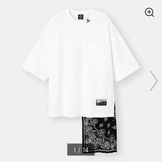 ミハラヤスヒロ(MIHARAYASUHIRO)の新品未使用ミハラヤスヒロGU完売TシャツホワイトSサイズ(Tシャツ/カットソー(半袖/袖なし))