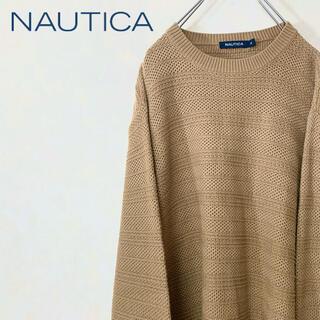 ノーティカ(NAUTICA)のNAUTICA ノーティカ 90年代 古着 コットン ニット セーター ゆるだぼ(ニット/セーター)