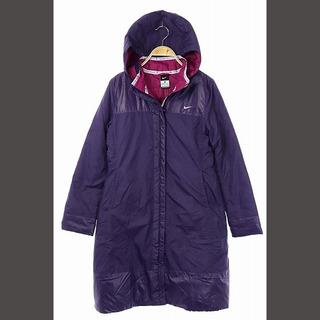 ナイキ(NIKE)のナイキ NIKE ジャケット アウター 中綿 ジップアップ フード M 紫 /A(その他)