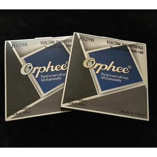 【2セット】Orphee QB290 エレキベース弦 45-100(弦)