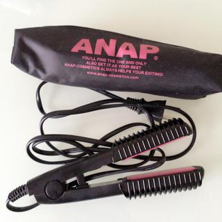 アナップ(ANAP)の美品  ANAP  ミニアイロン(ヘアアイロン)