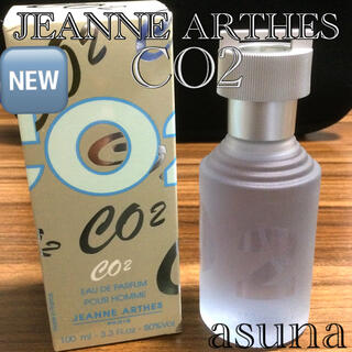 ジャンヌアルテス(JEANNE ARTHES)の新品 ジャンヌアルテス CO2 オードパルファム 100ml(香水(男性用))