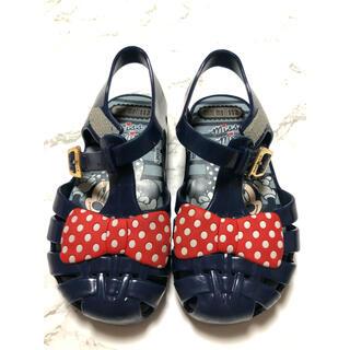 メリッサ(melissa)のmelissa ディズニー ミニーちゃん サンダル 赤ちゃん 靴(サンダル)