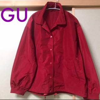 ジーユー(GU)のGU コーチジャケット ジャンパー Lサイズ(ナイロンジャケット)