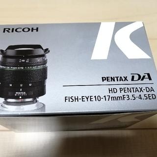 PENTAX - カメラ用レンズ HD DA FE10-17 / F3.5-4.5