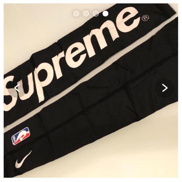 Supreme(シュプリーム)のsupreme  NIKE  アームスリーブ ブラック s/m メンズのファッション小物(その他)の商品写真
