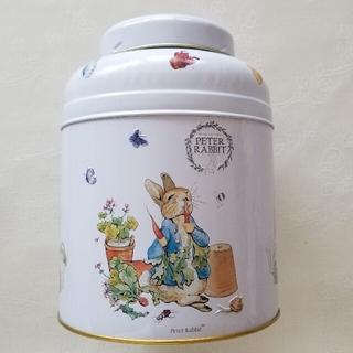 ピーターラビット缶 80ブレックファストブレンド ニューイングリッシュティーズ(茶)