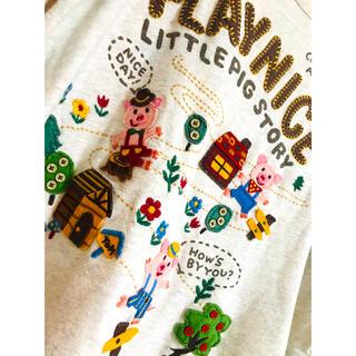 ラフ(rough)のrough 可愛いTシャツ(Tシャツ(長袖/七分))